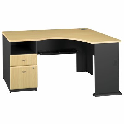 Bush Business Furniture Series A L-Shape Executive Desk
