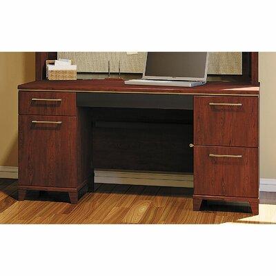 Bush Business Furniture Enterprise Double Pedestal Office Desk