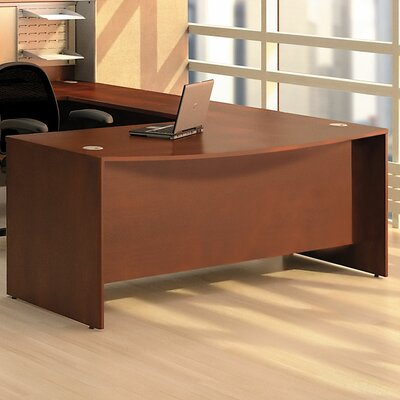Bush Business Furniture Quantum Bow Front Executive Desk Shell