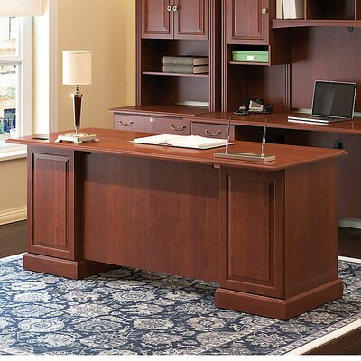 Bush Business Furniture Syndicate Executive Desk with 4 Drawers