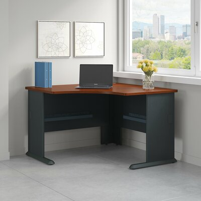 bush business furniture series a corner desk shell & reviews | wayfair