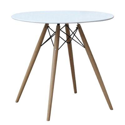 Fine Mod Imports Wood Leg Dining Table