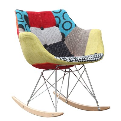 Fine Mod Imports Ginger Rocking Chair