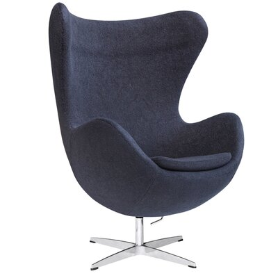 Fine Mod Imports Inner Fabric Arm Chair