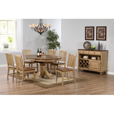Loon Peak Huerfano Valley 8 Piece Dining ..