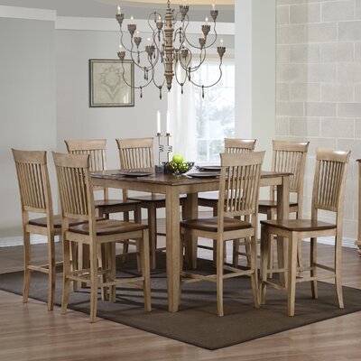 Loon Peak Huerfano Valley 9 Piece Pub Table Set