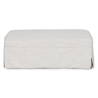 Sunset Trading Slipcovered Sleeper Ottoman