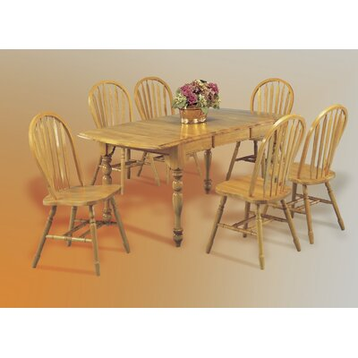 Loon Peak Banksville 7 Piece Dining Set