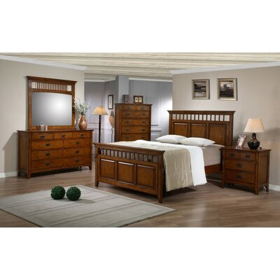 Loon Peak Elgin Panel Customizable Bedroom Set