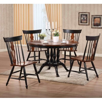 Loon Peak Casper Mountain 5 Piece Pub Table Set