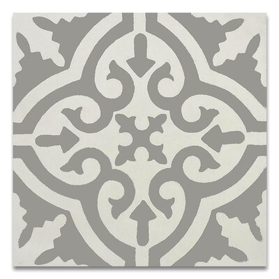 Moroccan mosaic tile house argana 8 x 8 handmade cement for White cement tiles