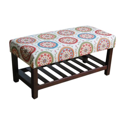 HomePop Deluxe Entryway Bench