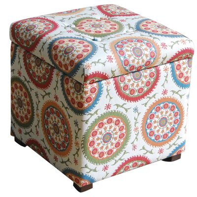 HomePop Fashion Upholstered Storage Cube ..