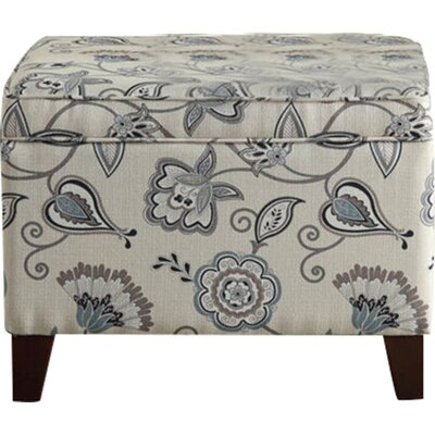 Red Barrel Studio Connelly Floral Storage Ottoman