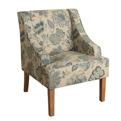 August Grove Viverette Swoop Armchair