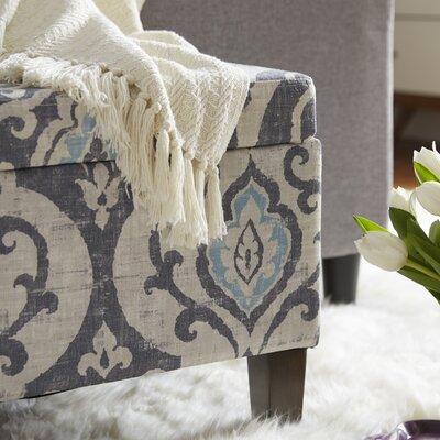 Bungalow Rose Muhammed Upholstered Storage Ottoman