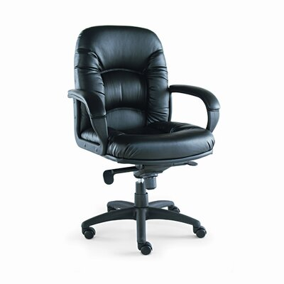 Alera® Nico Mid-Back Swivel/Tilt Chair, Black