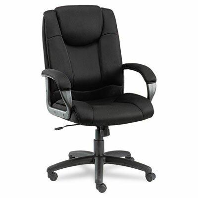 Alera® Logan Series High-Back Mesh Swivel / Tilt Executive Chair