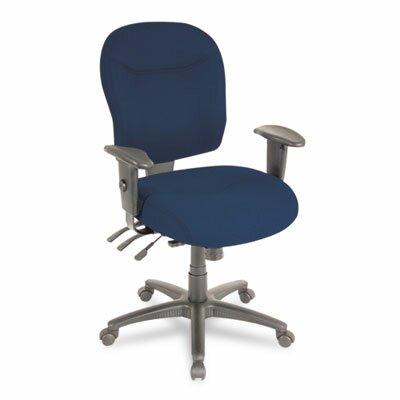 Alera® Wrigley Series Mid-Back Multifunction Office Chair