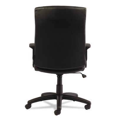 Alera? YR Series High-Back Leather Executive Swivel/Tilt Office Chair
