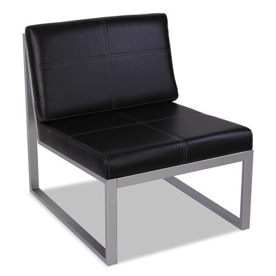 Alera® Reception Leather Lounge Series Side Chair