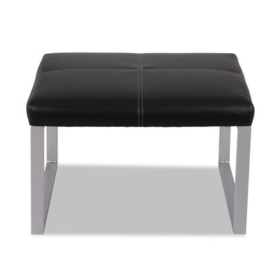 Alera® Reception Leather Lounge Series Ottoman