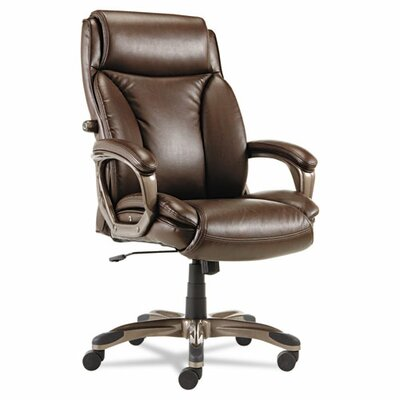 Alera® Veon Series High-Back Leather Executive Chair