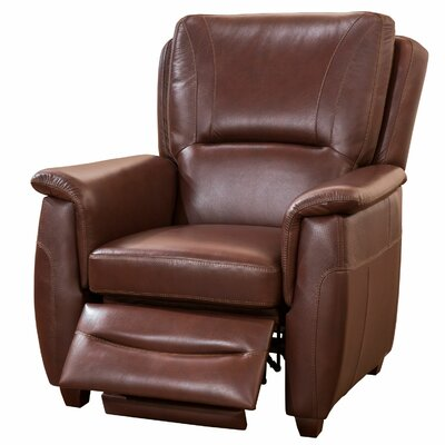 Fornirama Sienna Top Grain Leather Recliner