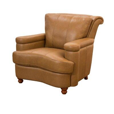 Fornirama Heathridge Top Grain Leather Arm Chair
