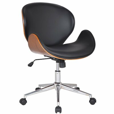 Adeco Trading Bentwood Mid-Back Task Chair