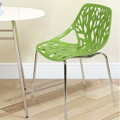 Adeco Trading Stacking Dining Side Chair (Se..