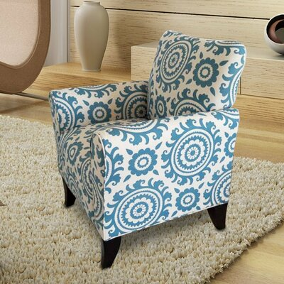 Adeco Trading Printing Arm Chair
