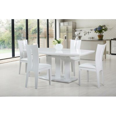 At Home USA Agata Extendable Dining Table