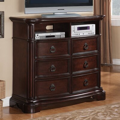 Avalon Furniture Lavon Lake 6 Drawer Media Chest