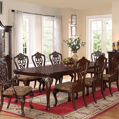 Avalon Furniture Acanthus 8 Piece Dining Set