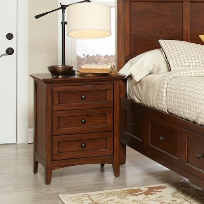 Avalon Furniture Beacon Street 3 Drawer Nightstand