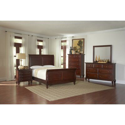 Avalon Furniture Knob Hill Sleigh Customizable Bedroom Set