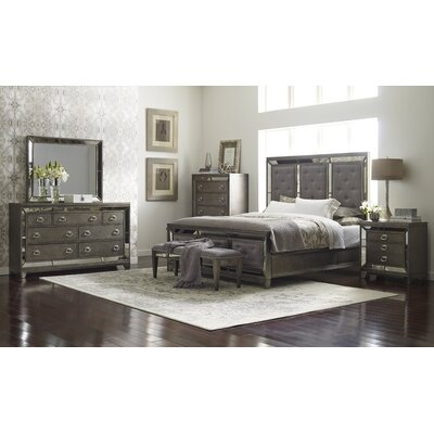 Avalon Furniture Lenox Panel Customizable Bedroom Set