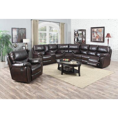 Avalon Furniture Tombstone Sectional