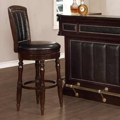 Avalon Furniture Dundee Place Swivel Bar ..