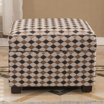 Bellasario Collection Plaid Storage Ot..