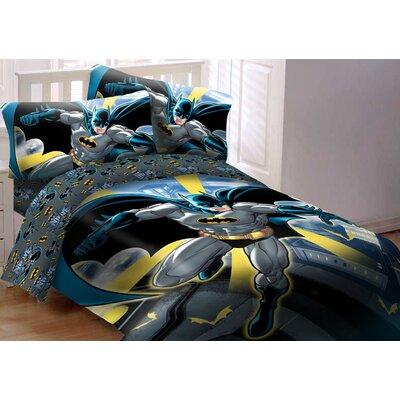 crover batman comforter set reviews wayfair. Black Bedroom Furniture Sets. Home Design Ideas