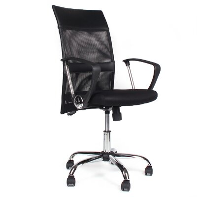 Meelano Greene High-Back Office Chair with Arms