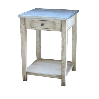 ZallZo Handmade Port Wenn End Table