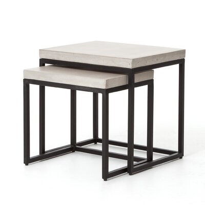 Design Tree Home Cyrus 2 Piece Nesting Tables