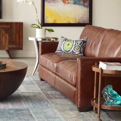 Design Tree Home Larkin Leather Sofa