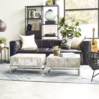 Design Tree Home Larkin Nolita Leather Sofa