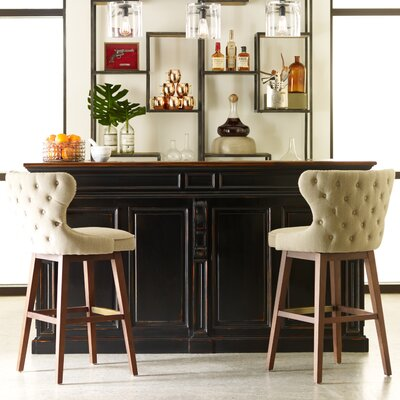 Design Tree Home Julie Swivel Bar Stool w..