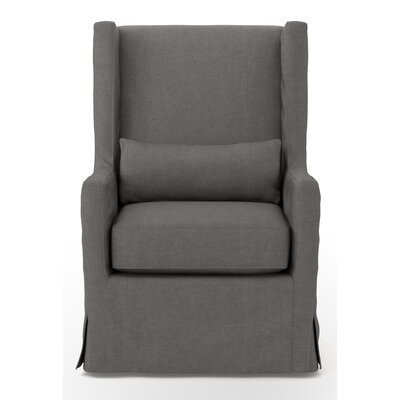 Design Tree Home Elouise Swivel Wingback Chair