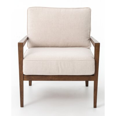 Design Tree Home Elouis Bespoke Laurent Wood Arm Chair